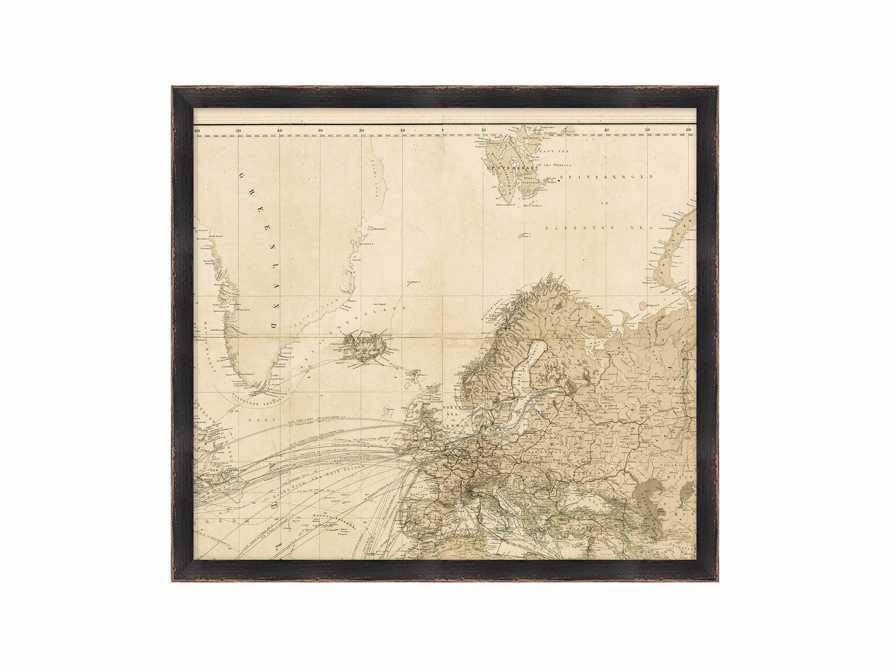 World Map Gallery Print II, slide 2 of 2