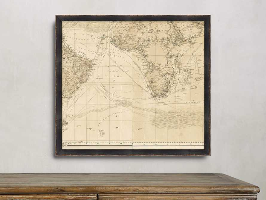 World Map Gallery Print 5