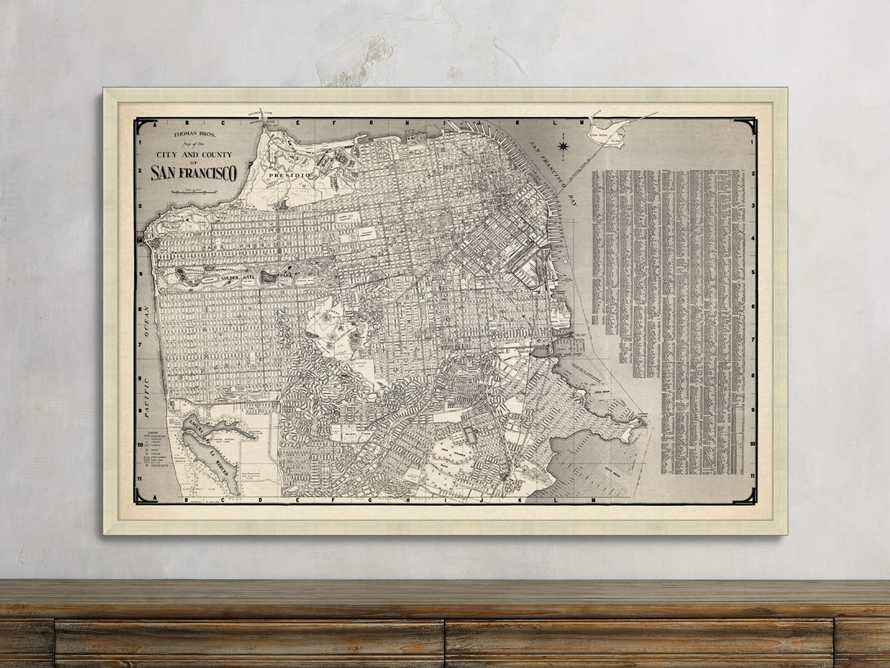 San Francisco Pictoral Map