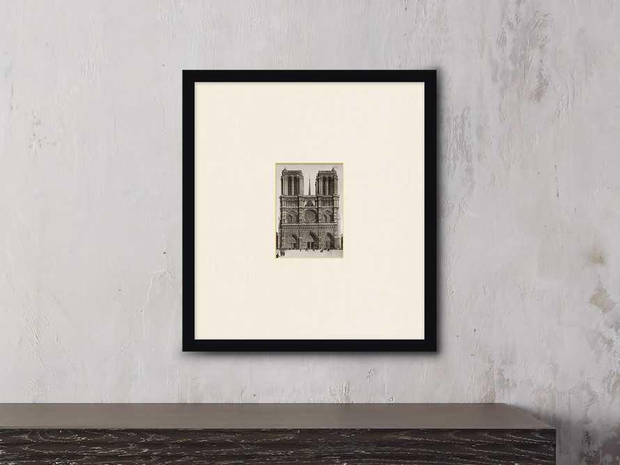 """Notre Dame 21"""" X 19"""" Print"""