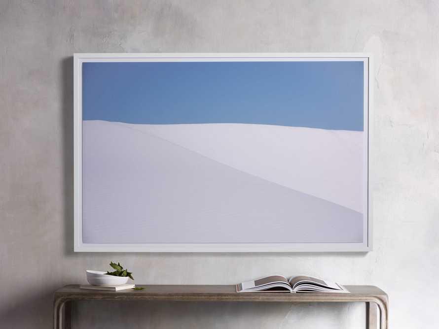 White Sands Framed Print, slide 1 of 4