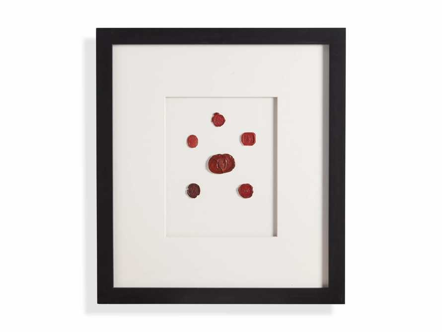 Wax Seal 5 Framed Print