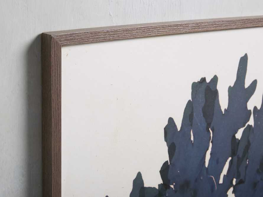 "32"" Blue Seaweed Framed Print I, slide 2 of 5"