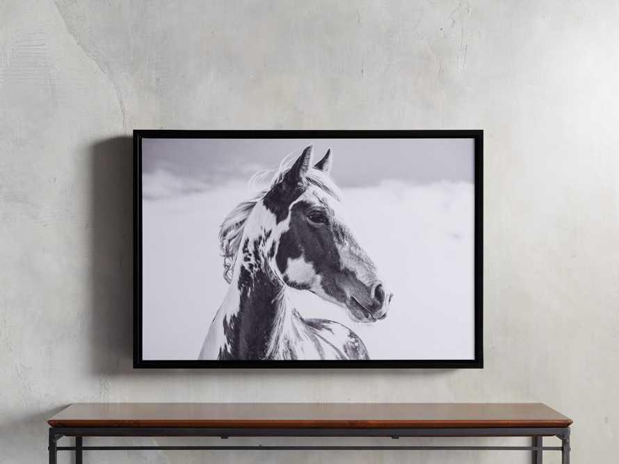 Pensive Framed Print, slide 1 of 3