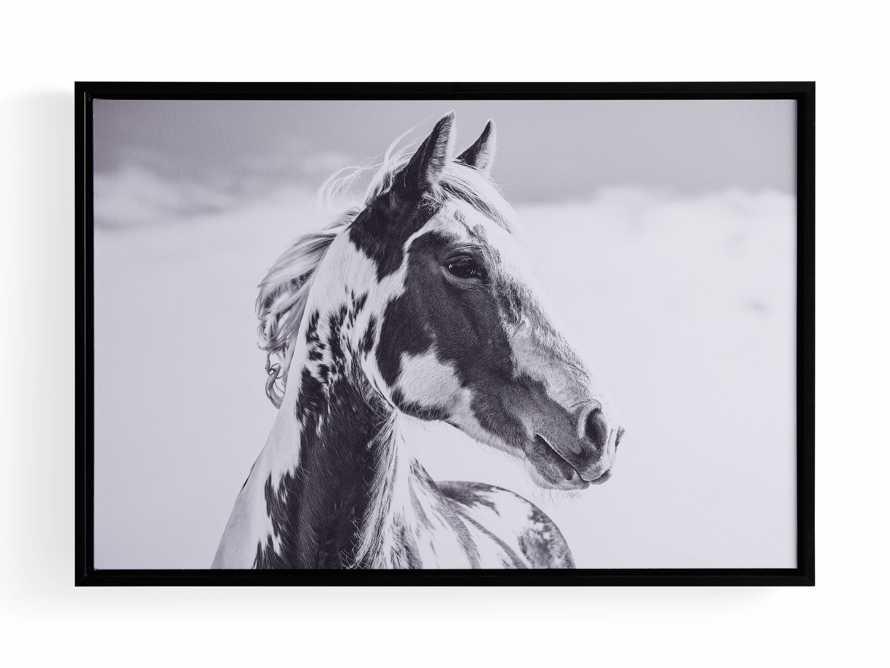 Pensive Framed Print, slide 3 of 3