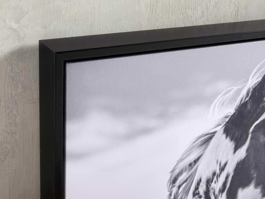 Pensive Framed Print, slide 2 of 3