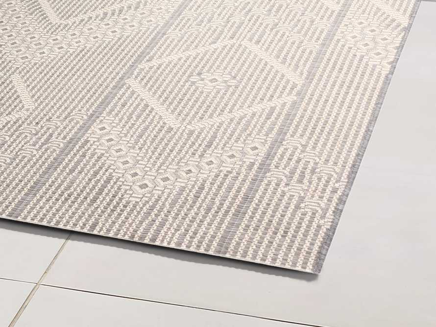 "5'3"" X 7'6"" Foxden Performance Rug in Ivory, slide 2 of 3"