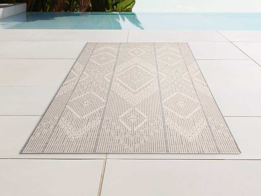 "5'3"" X 7'6"" Foxden Performance Rug in Ivory, slide 1 of 3"