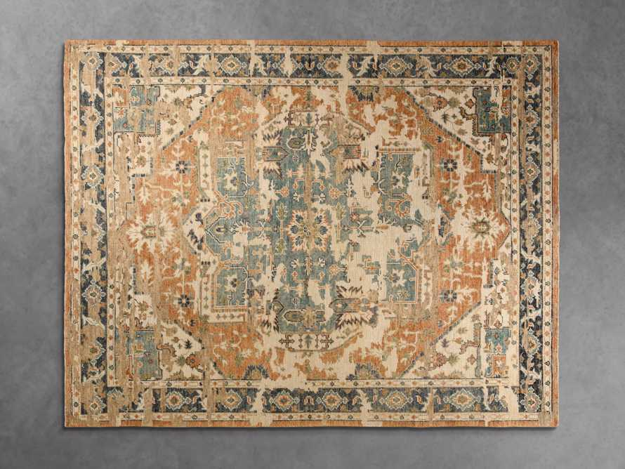 10x14 Heraldsburg Hand-Knotted Honey Rug
