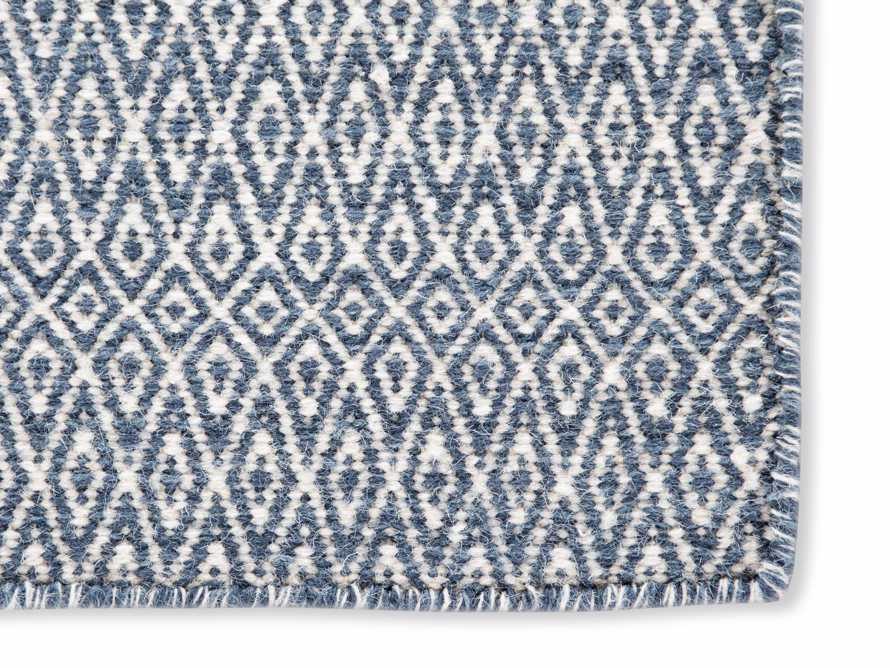 5x8 Kiawah Flatweave Blue Rug, slide 2 of 2
