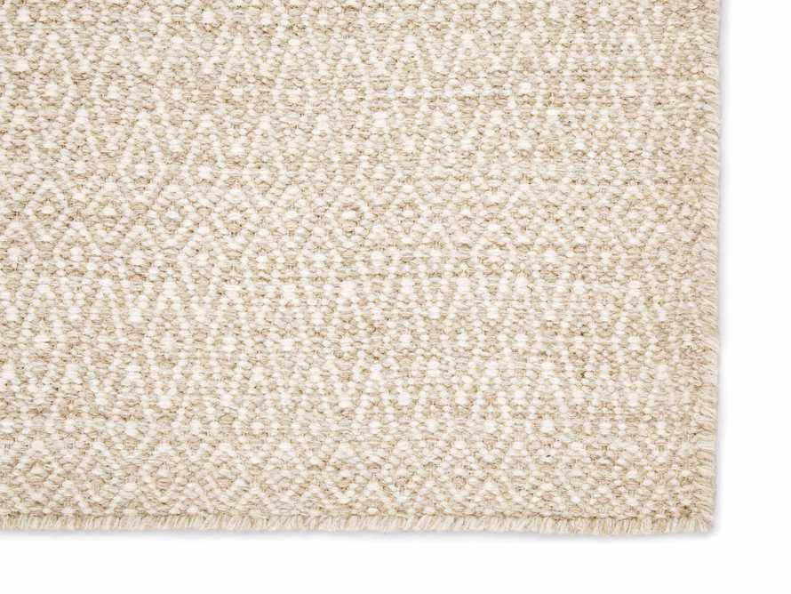 7' 10 x 9' 10 Kiawah Flatweave Cream Rug, slide 2 of 2