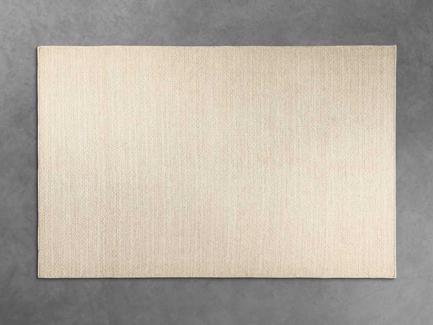7' 10 x 9' 10 Kiawah Flatweave Cream Rug, slide 1 of 2