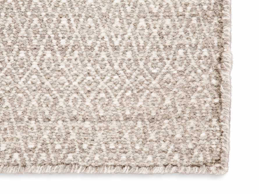 5x8 Kiawah Flatweave Grey Rug, slide 2 of 2