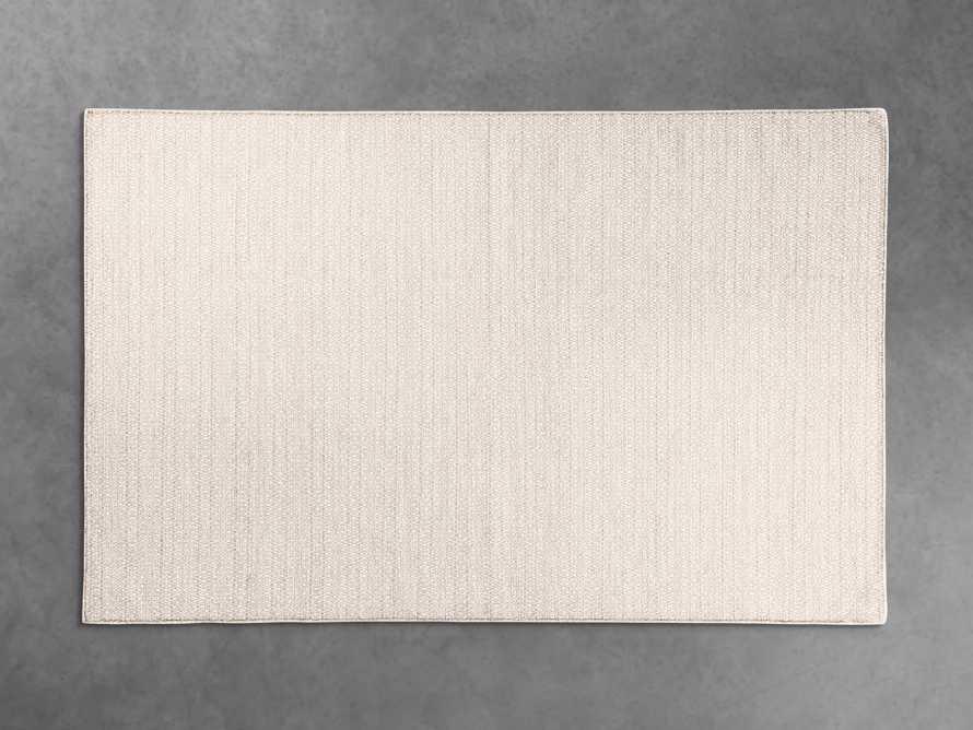 5x8 Kiawah Flatweave Grey Rug, slide 1 of 2
