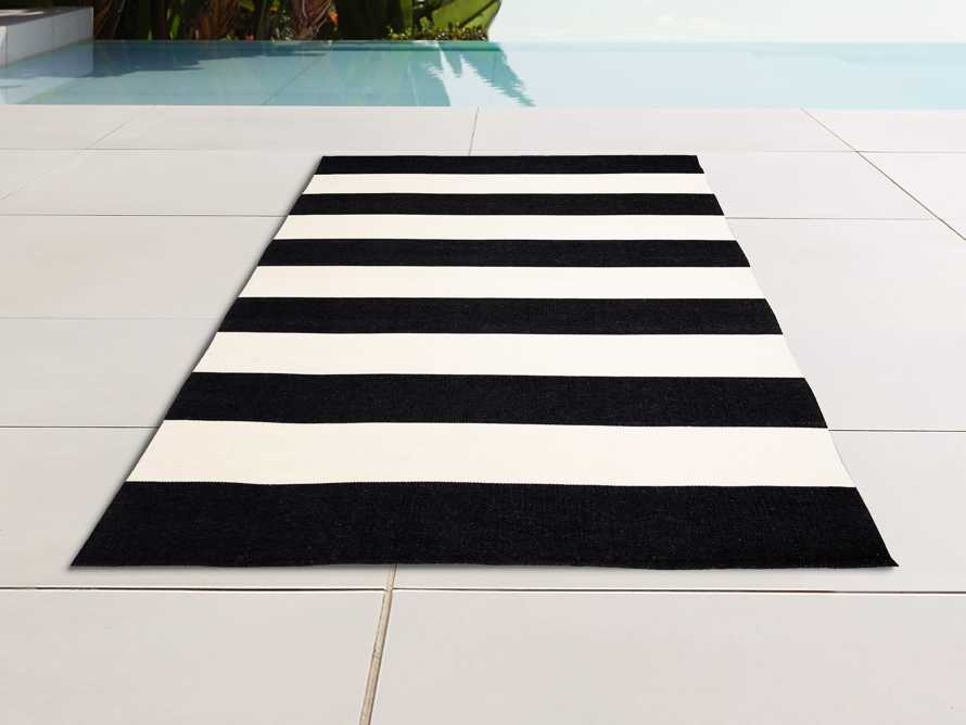 4' x 6' Lacosta Black Performance Rug, slide 1 of 3