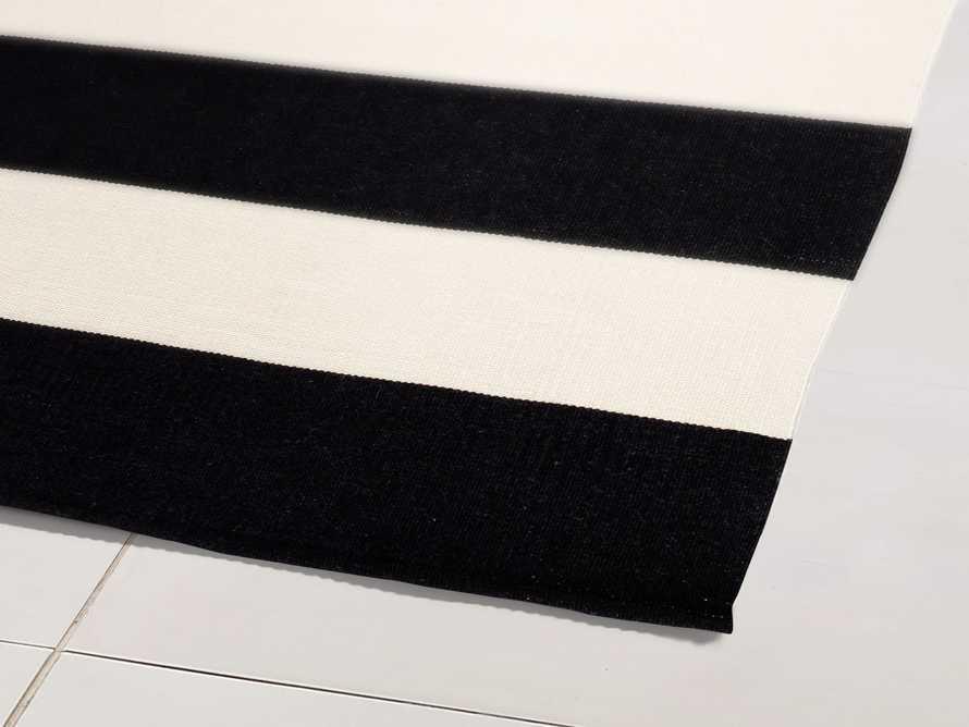 4' x 6' Lacosta Black Performance Rug, slide 2 of 3