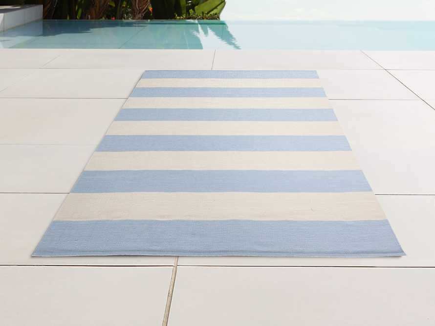 4' x 6' Lacosta Light Blue Performance Rug, slide 1 of 3
