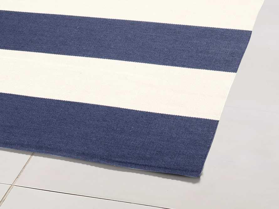 5' x 8' Lacosta Navy Performance Rug, slide 2 of 3