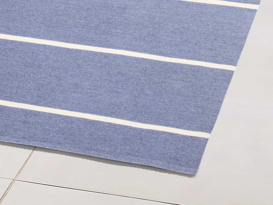 4' x 6' Middleport Blue Performance Rug, slide 2 of 4