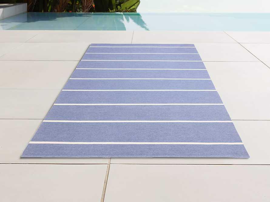 4' x 6' Middleport Blue Performance Rug, slide 1 of 3