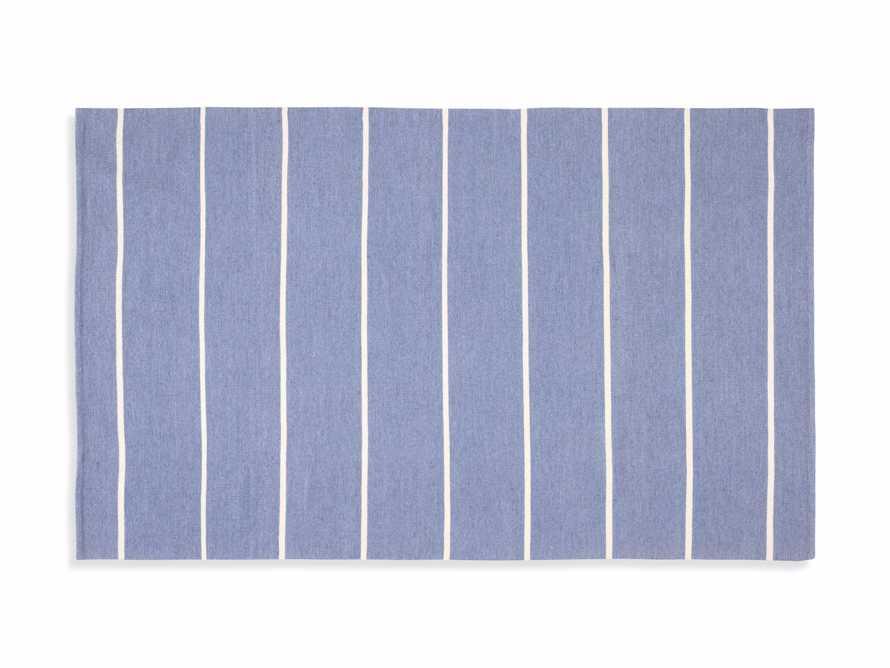 4' x 6' Middleport Blue Performance Rug, slide 3 of 4