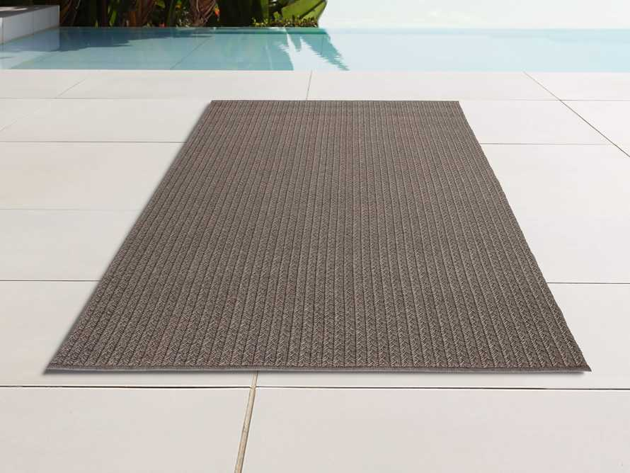 4' x 6' Manor Brown Outdoor Rug, slide 1 of 2