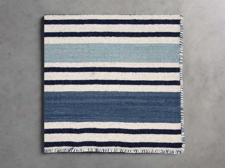 18X18 PAWLEY BLUE RUG SWATCH, slide 1 of 1