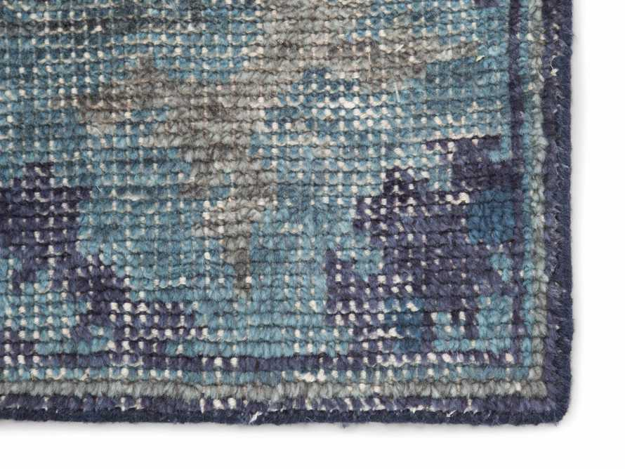 5x8 Saybrook Hand-Knotted Blue Rug, slide 2 of 2