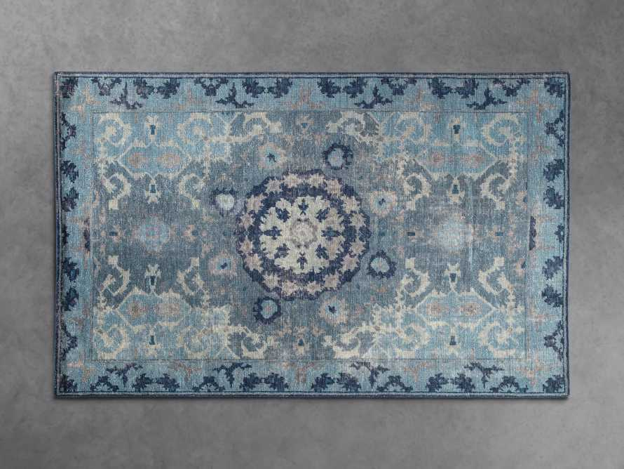 5x8 Saybrook Hand-Knotted Blue Rug, slide 1 of 2