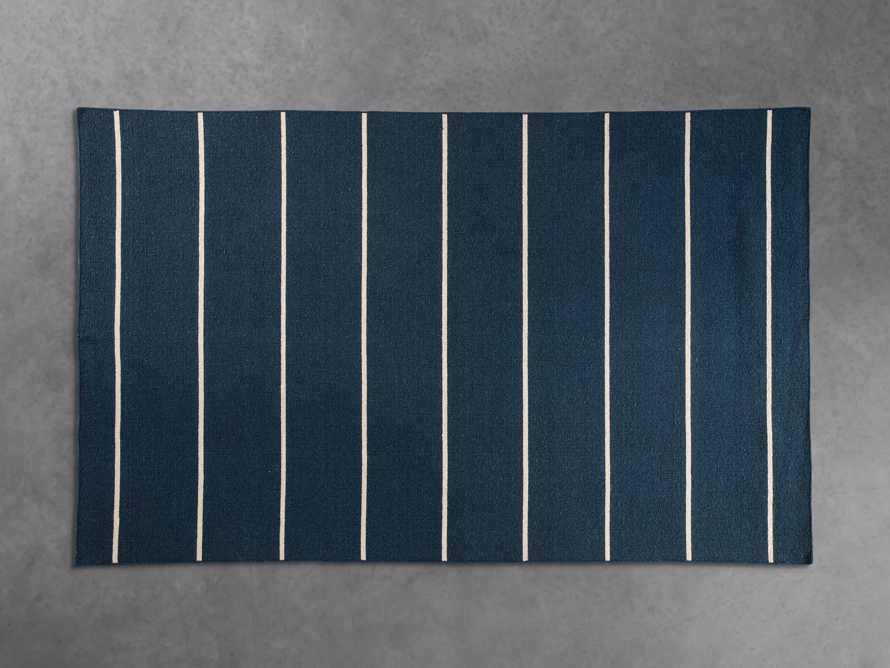 10x14 Tybee Flatweave Blue Rug