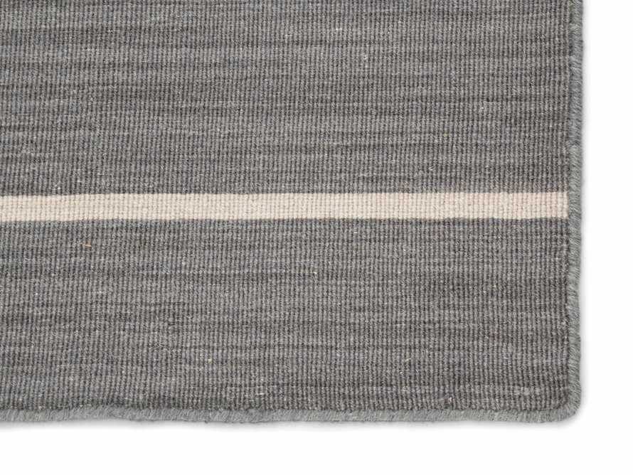 5x8 Tybee Flatweave Grey Rug, slide 2 of 2