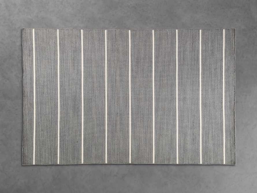 5x8 Tybee Flatweave Grey Rug, slide 1 of 2