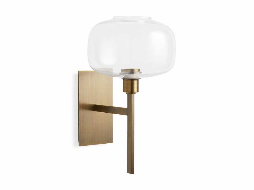 Hubbard Brass Wall Sconce, slide 4 of 4
