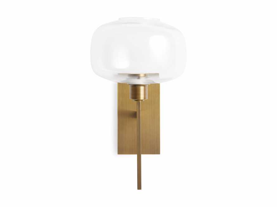 Hubbard Brass Wall Sconce, slide 3 of 4