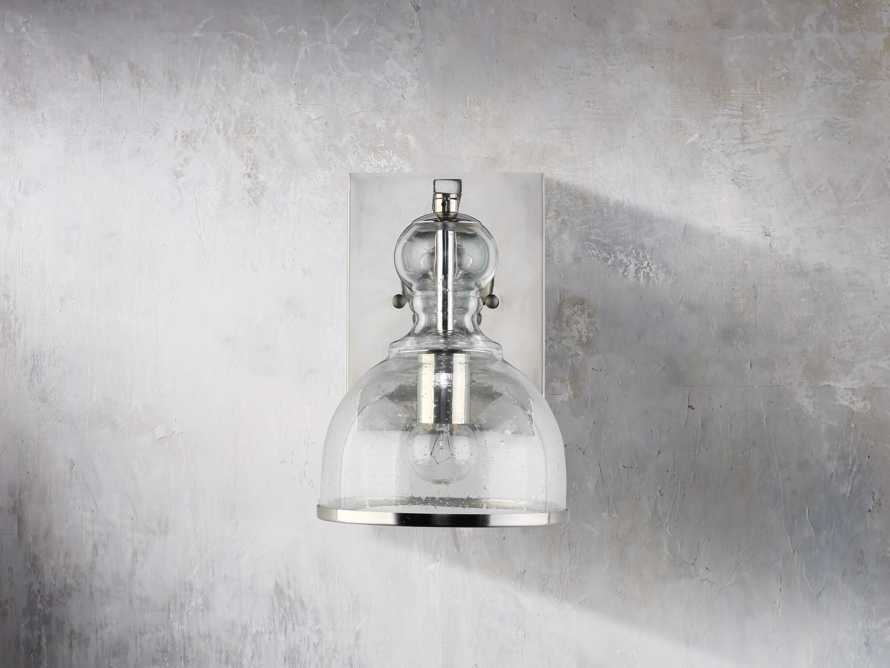 Safford Nickel Small Sconce, slide 4 of 6