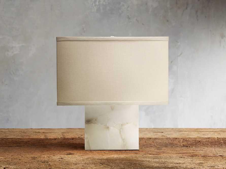 Alabaster Accent Lamp, slide 1 of 2