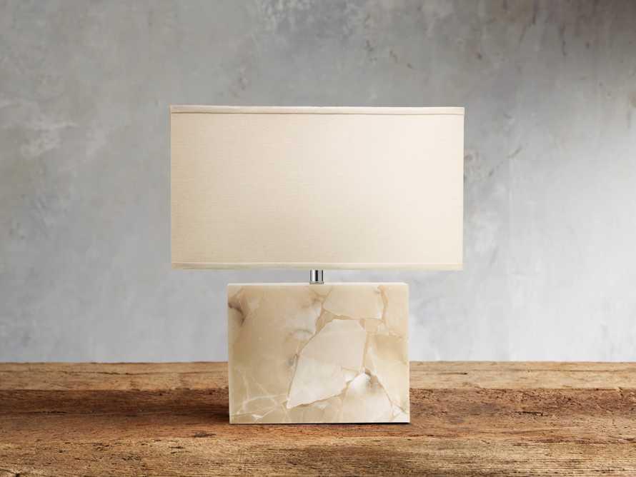 Alabaster Table Lamp, slide 1 of 2