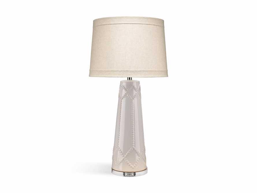 Jordiana Table Lamp in Ivory, slide 2 of 2