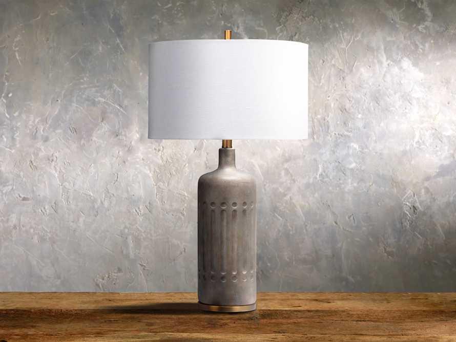 Leolyn Cement Table Lamp, slide 1 of 1