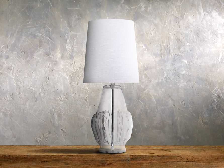Sopheary Glass Table Lamp in Clear, slide 1 of 1