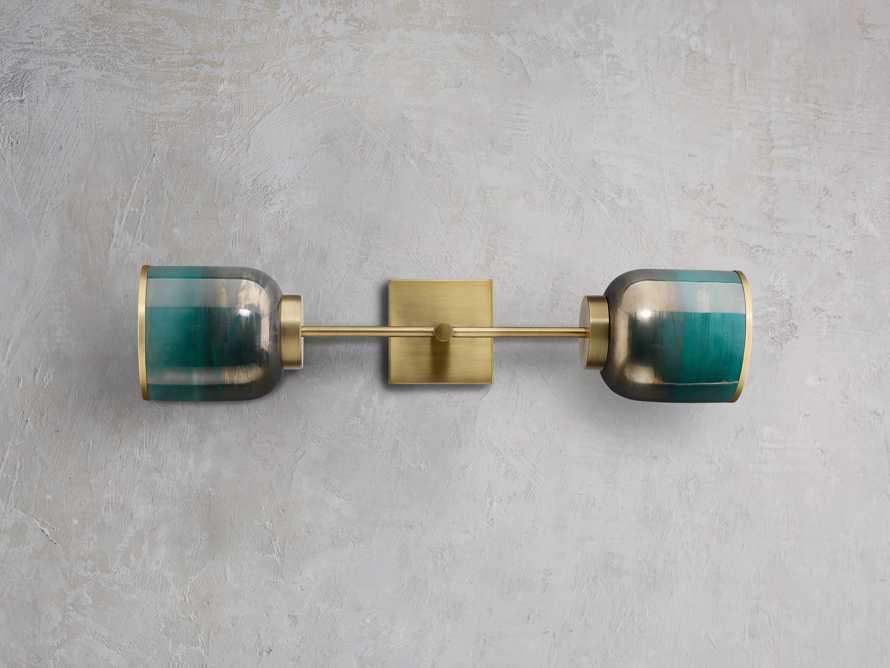 Siren Double Wall Sconce, slide 2 of 4