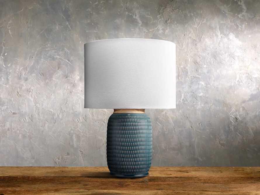 Ida Table Lamp in Teal, slide 1 of 1