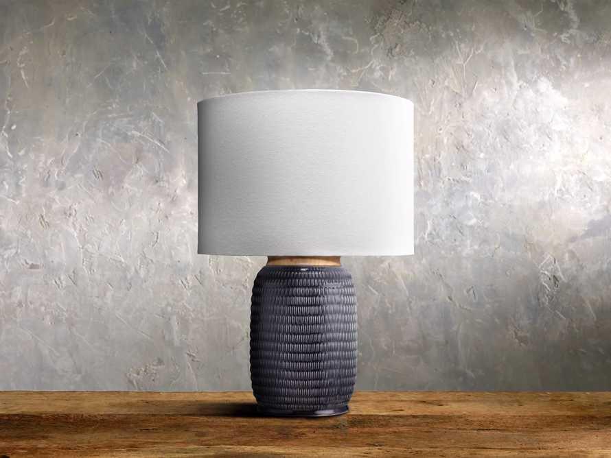 Ida Table Lamp in Navy, slide 1 of 1