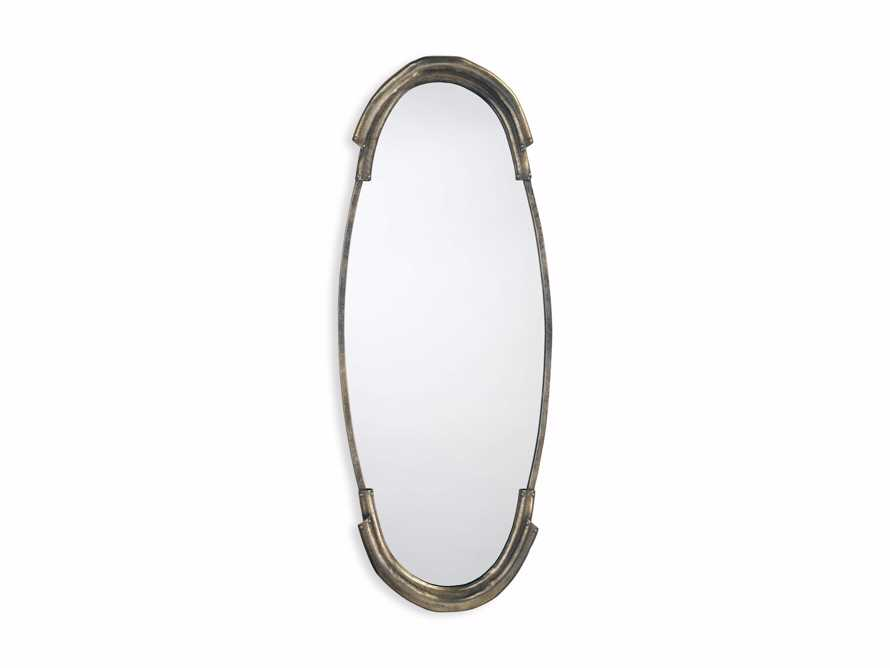 """MALLORY 45"""" WALL MIRROR IN SILVER, slide 3 of 3"""