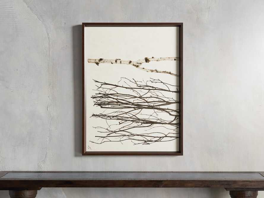Birch Triptych Framed Print, slide 2 of 9