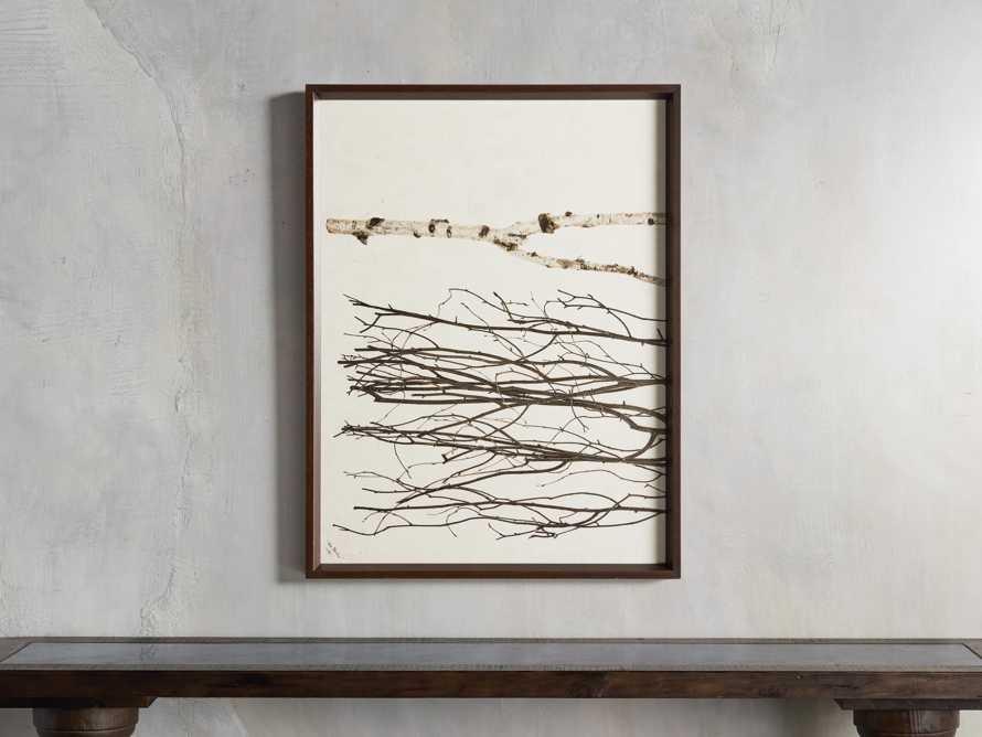 Birch Triptych Framed Print, slide 2 of 10