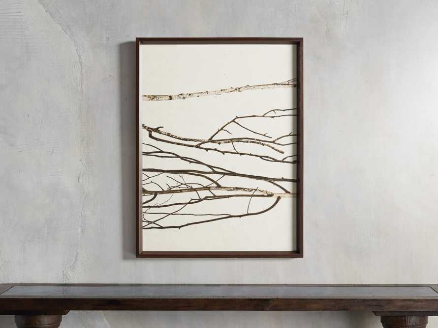 Birch Triptych Framed Print, slide 3 of 9