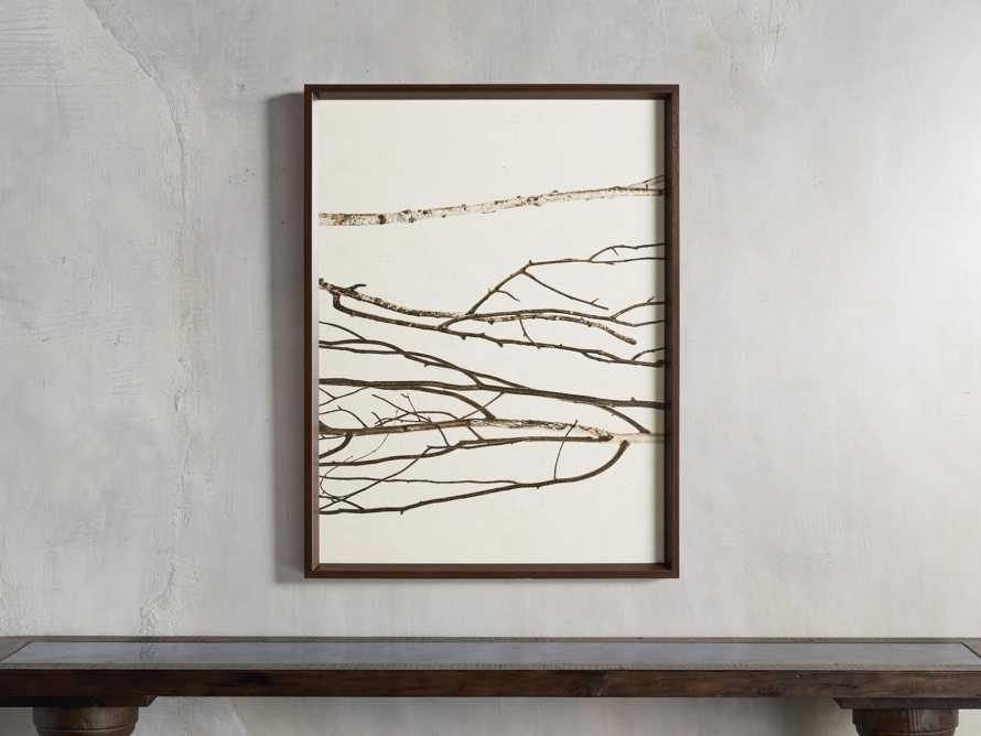 Birch Triptych Framed Print, slide 3 of 10