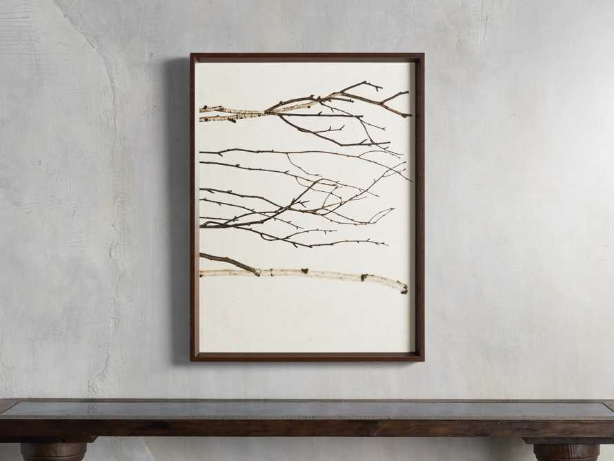 Birch Triptych Framed Print, slide 4 of 9