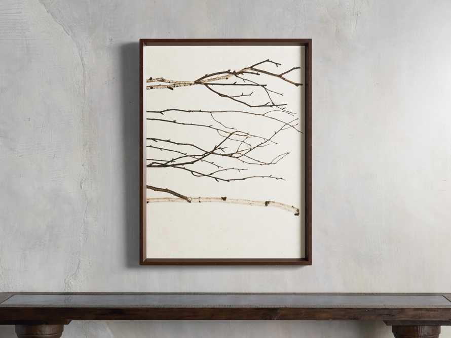 Birch Triptych Framed Print, slide 4 of 10